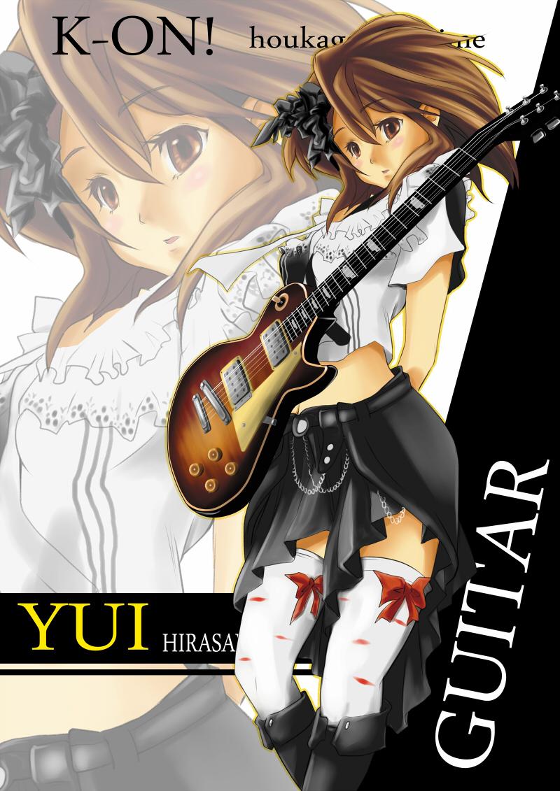 Hirasawa Yui/#176030 - Zerochan K On Yui Guitar