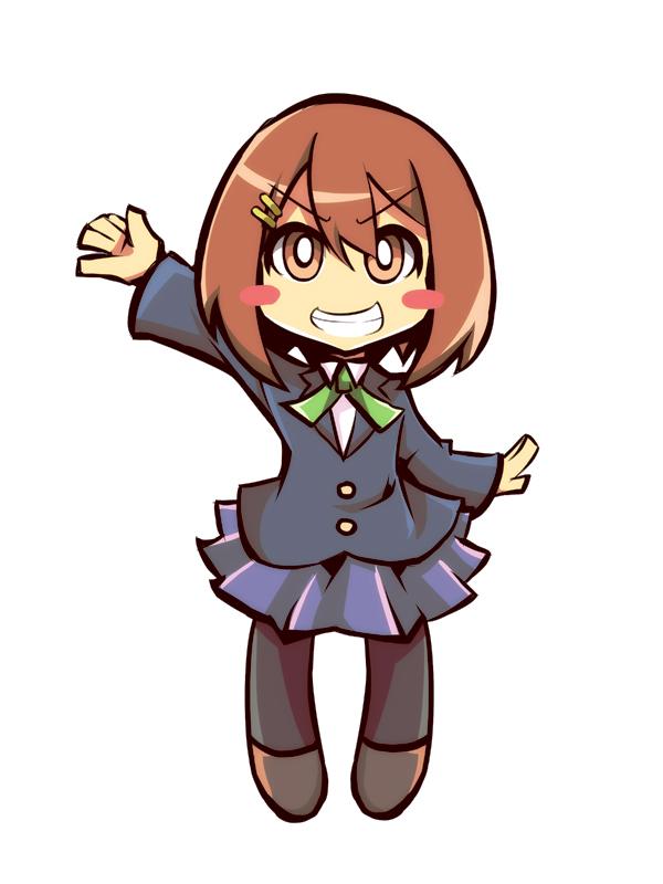Tags: Anime, Drpow, K-ON!, Hirasawa Yui, Panty and Stocking with Garterbelt (Parody), PSG Character Design, Pixiv, Yui Hirasawa