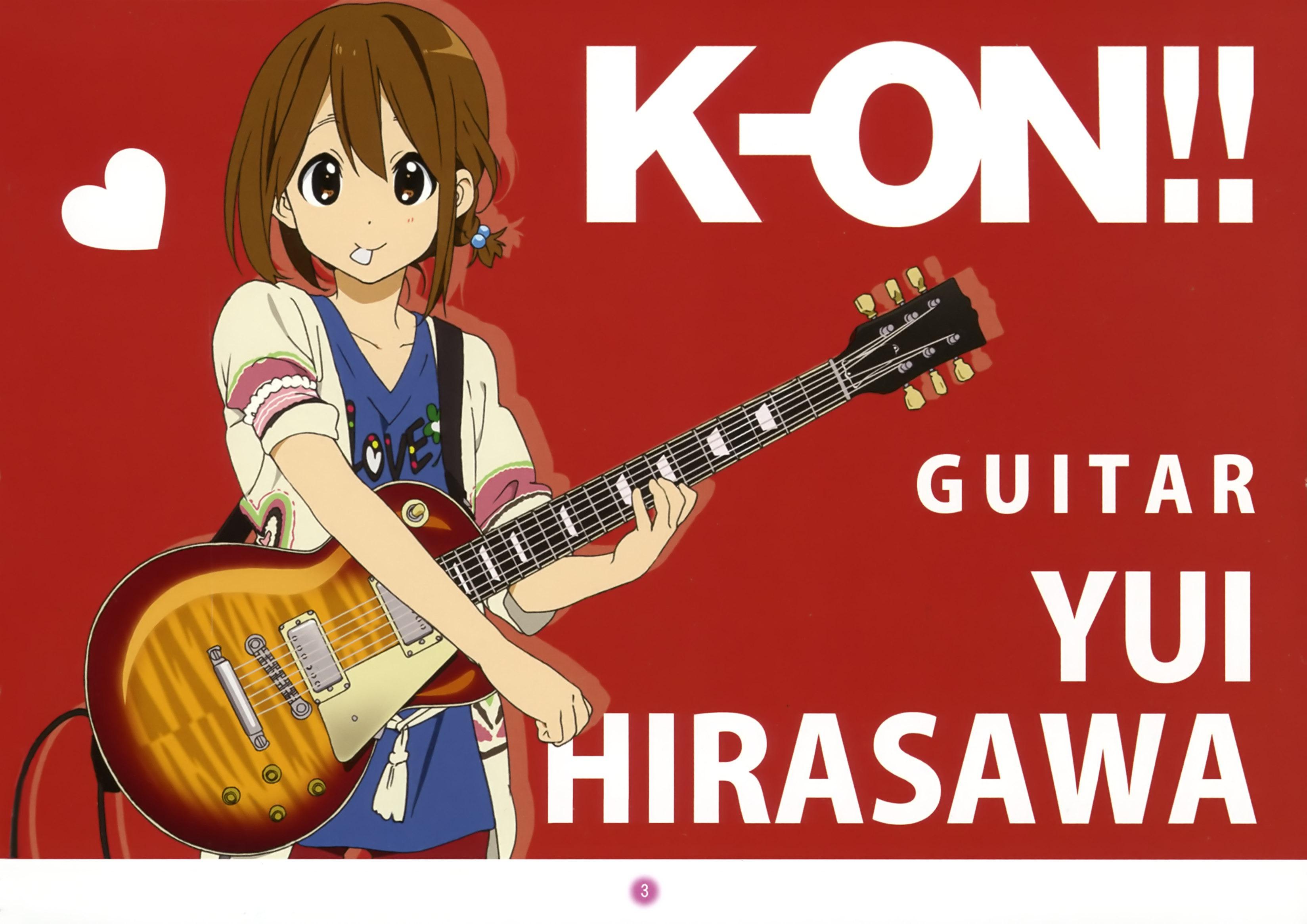 Hirasawa Yui/#417845 - Zerochan K On Yui Guitar