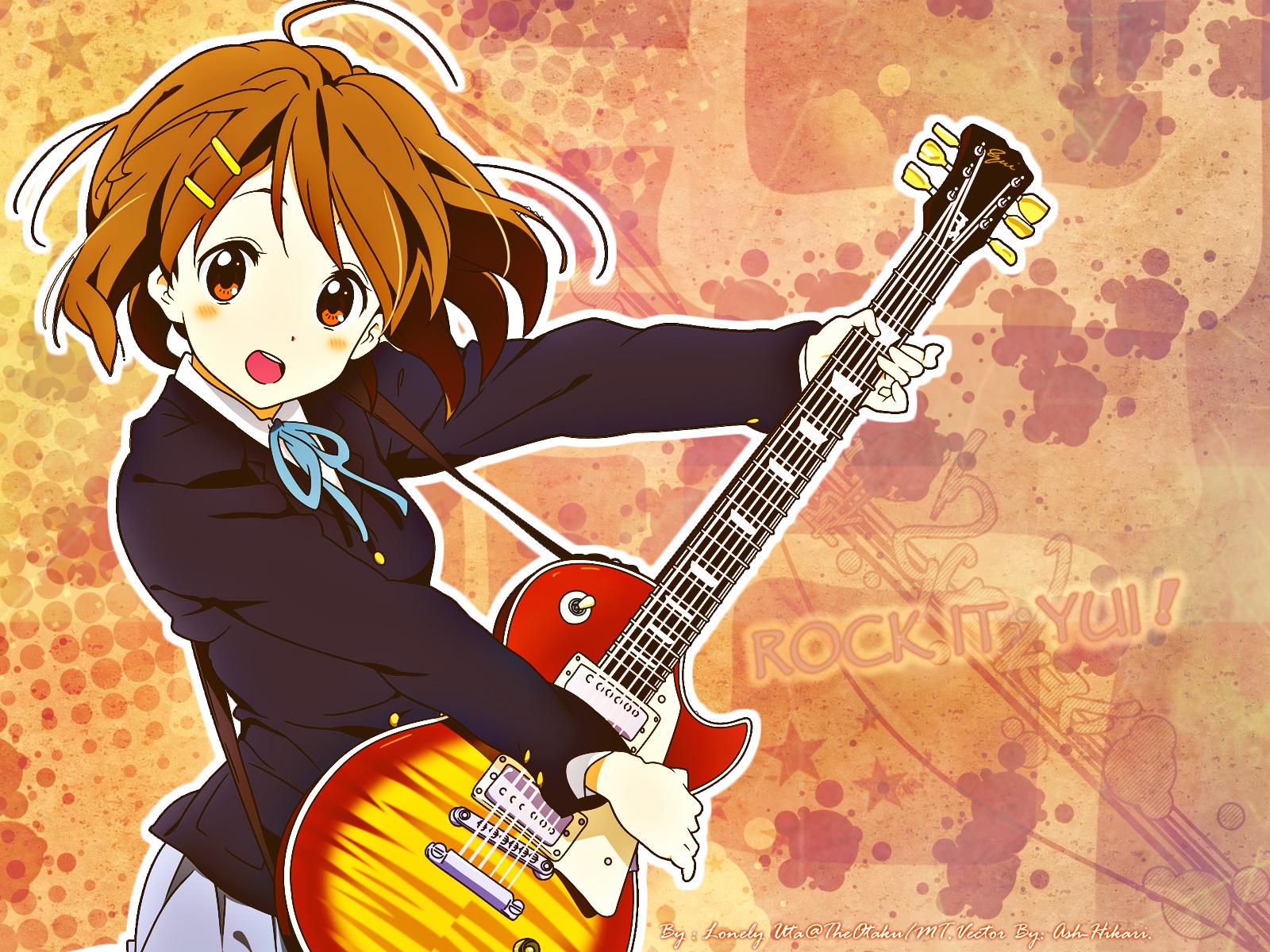 Tags  Anime  K-ON   Hirasawa Yui  GuitarK On Yui Guitar