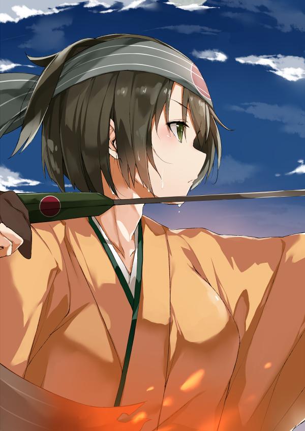 Tags: Anime, Pixiv Id 7970504, Kantai Collection, Hiryuu (Kantai Collection), Pixiv, Fanart, Fanart From Pixiv, PNG Conversion