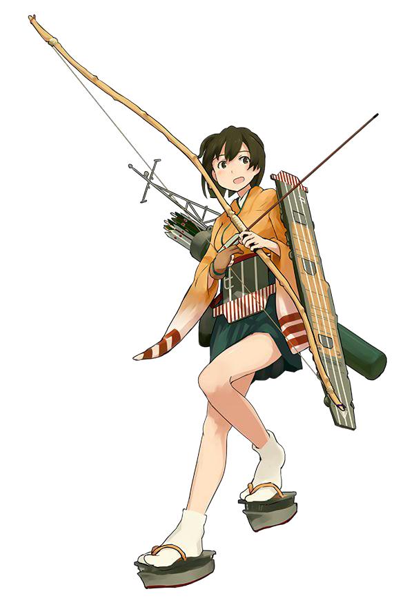 Tags: Anime, Shibafu, Kadokawa Games, Kantai Collection, Hiryuu (Kantai Collection), Cover Image, PNG Conversion, Official Art