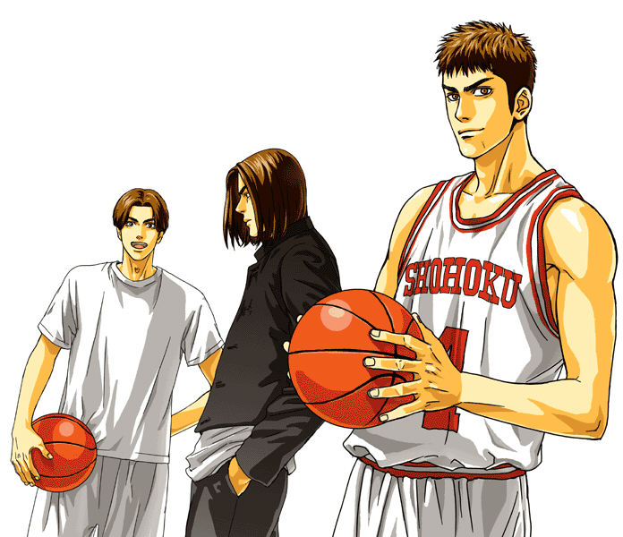 Tags: Anime, Slam Dunk, Hand In Pocket, Sleeveless, Short Sleeves