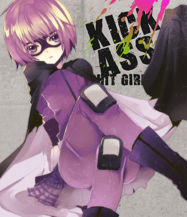 Tags: Anime, Ogura Anko, Kick Ass, Hit Girl, Domino Mask, Pixiv
