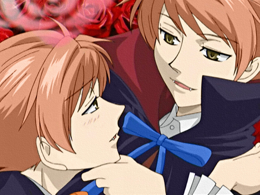 hitachiin twins ouran high school host club wallpaper