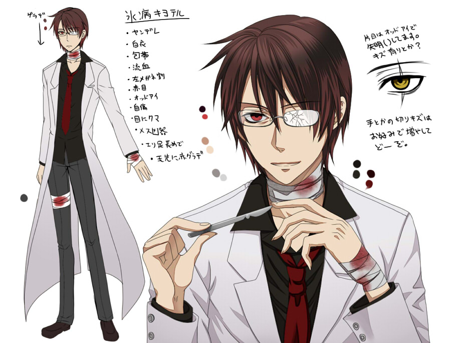 Scientist Zerochan Anime Image Board