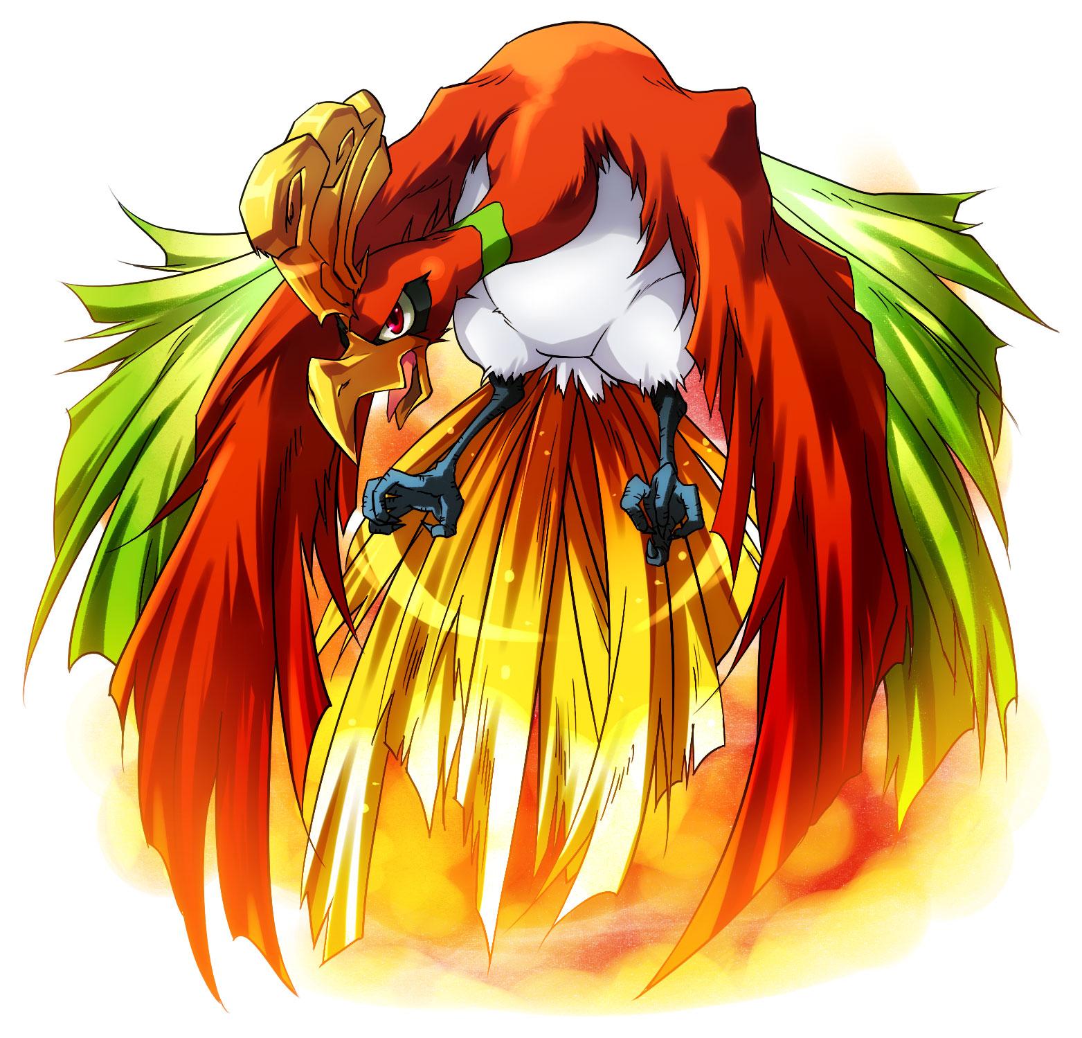 Ho Oh Pok 233 Mon Image 1226380 Zerochan Anime Image Board