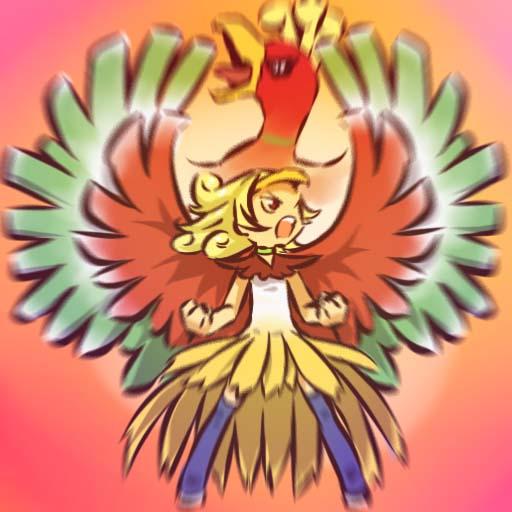 Tags: Anime, Hitec, Pokémon, Ho-oh, Legendary Pokémon