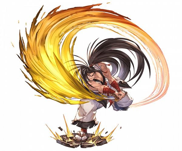 Tags: Anime, Minaba Hideo, Cygames, Samurai Spirits, Granblue Fantasy, Hoahmaru, Transparent Background