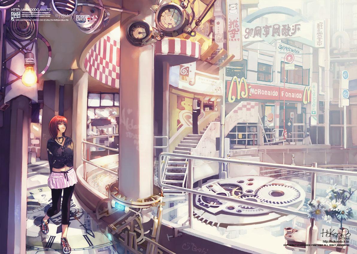 Аниме магазин одежды картинки