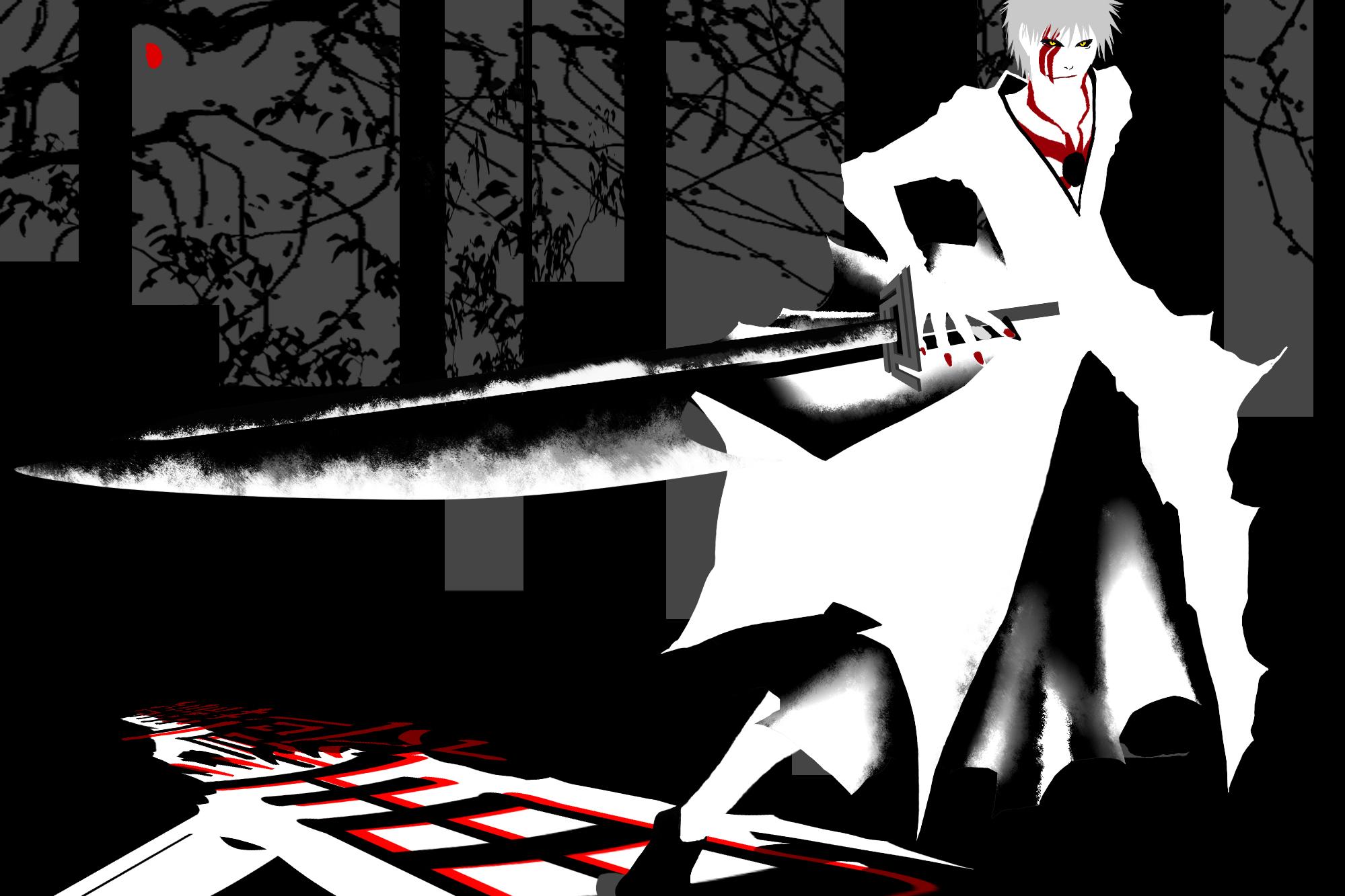 Zerochan kurosaki ichigo hollow ichigo 1213366
