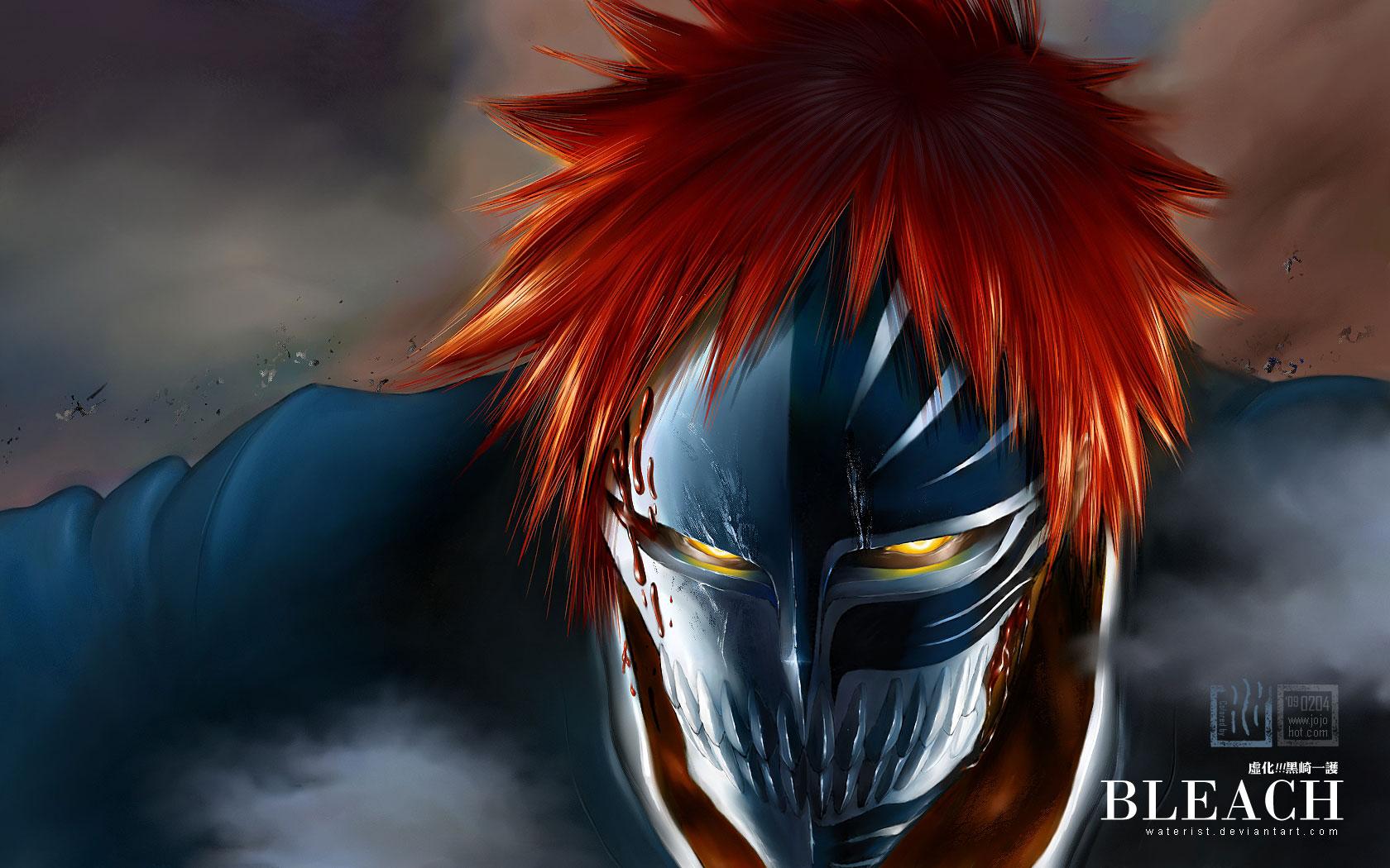 Tags Anime Waterist BLEACH Kurosaki Ichigo Hollow 1680x1050 Wallpaper