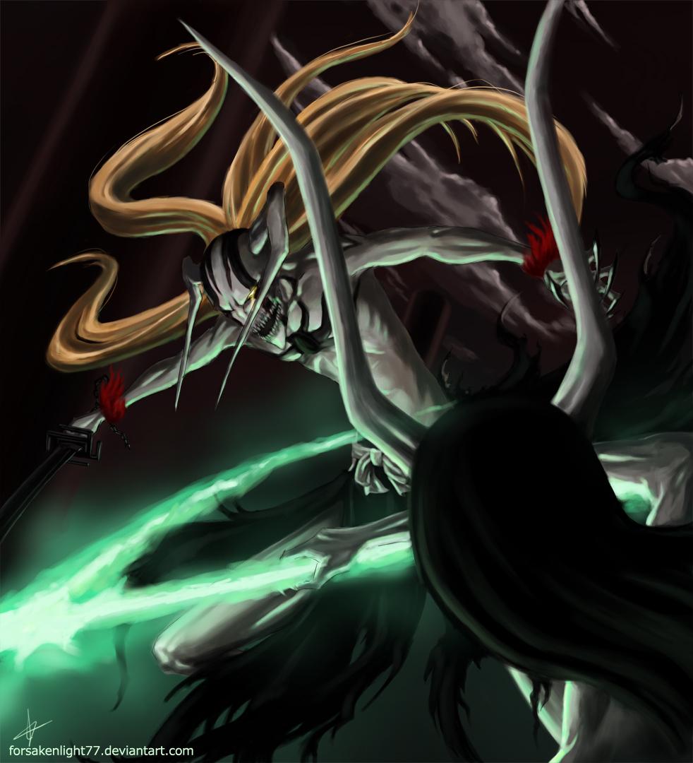 Tags Anime BLEACH Ulquiorra Schiffer Kurosaki Ichigo Hollow Espada