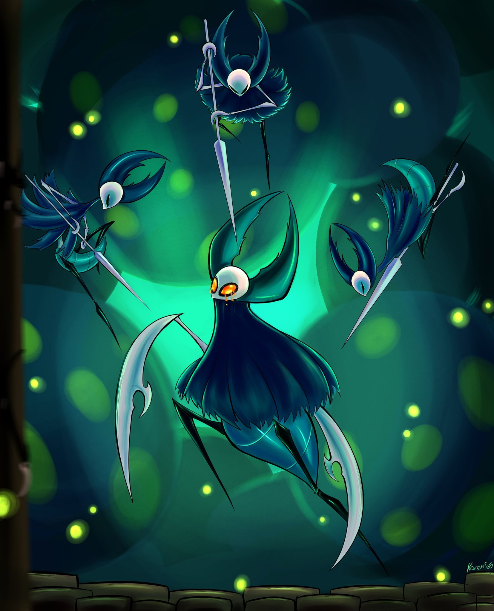 Hollow Knight Traitor Lord