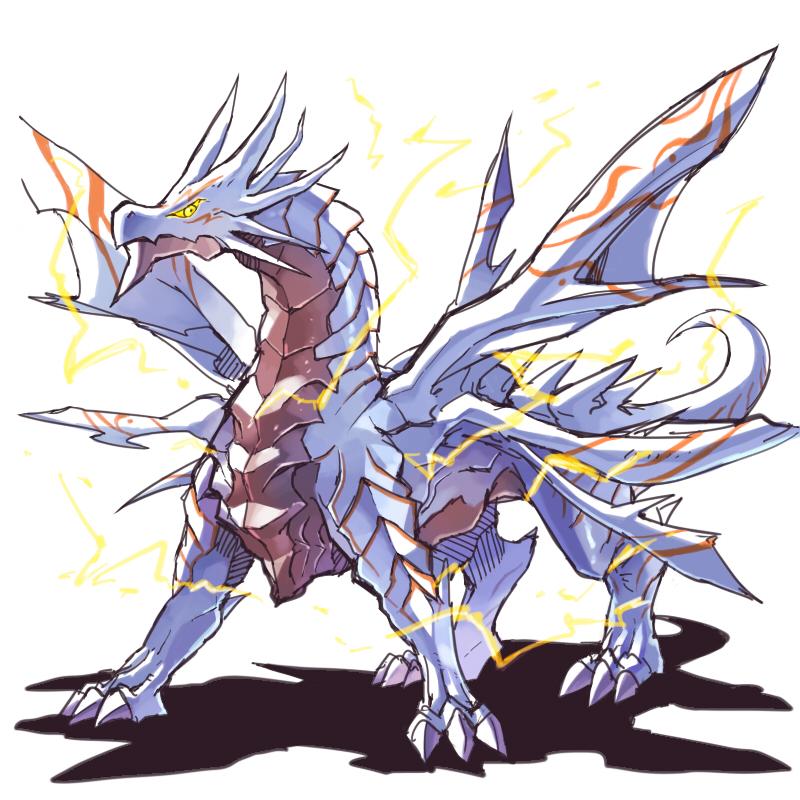 Holy Lightning Dragon - Puzzle & Dragons - Zerochan Anime ...