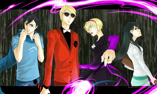 Tags: Anime, Fanart, Homestuck, Rose Lalonde, Dave Strider