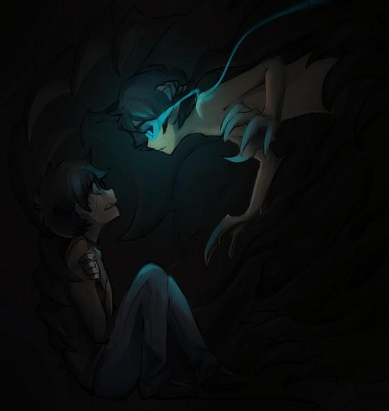 568 x 600 183 35 kb 183 jpeg homestuck crying karkat anime source http