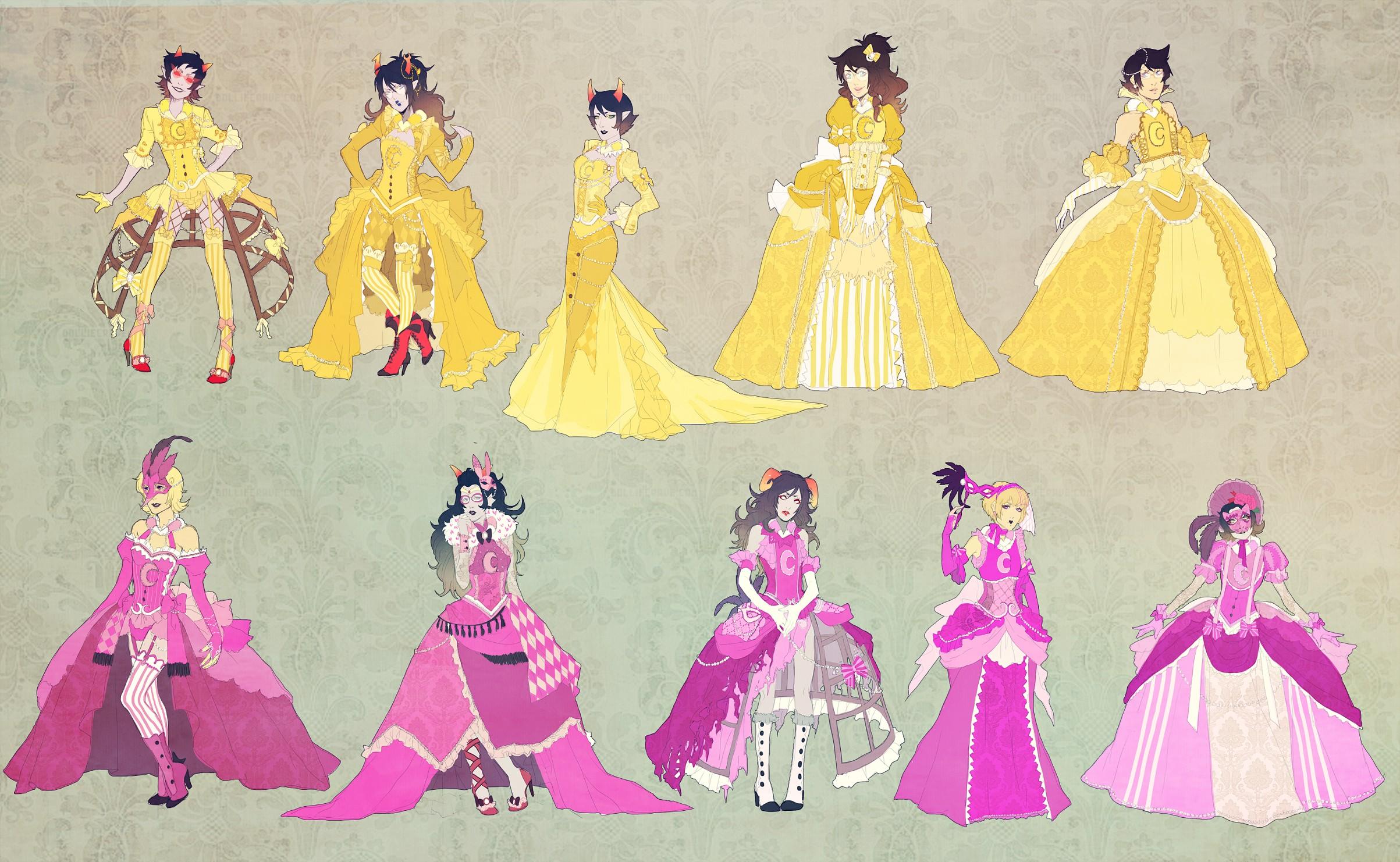 Yellow Dress - Zerochan Anime Image Board