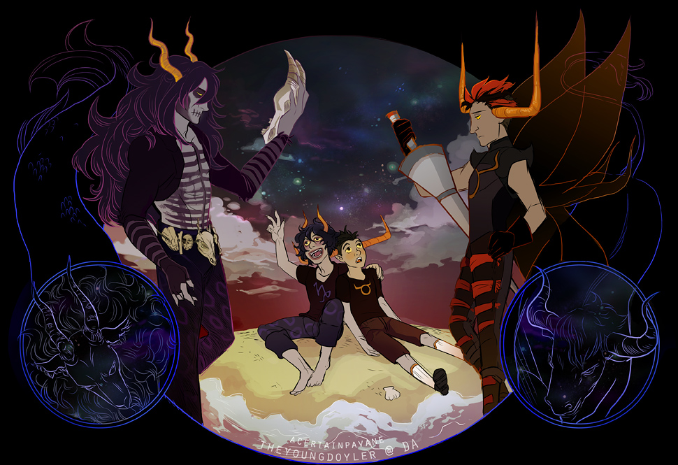 Highblood And Summoner Homestuck/#1106...
