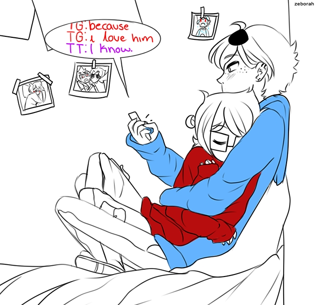 John Egbert And Dave Strider Homestuck Image #11377...