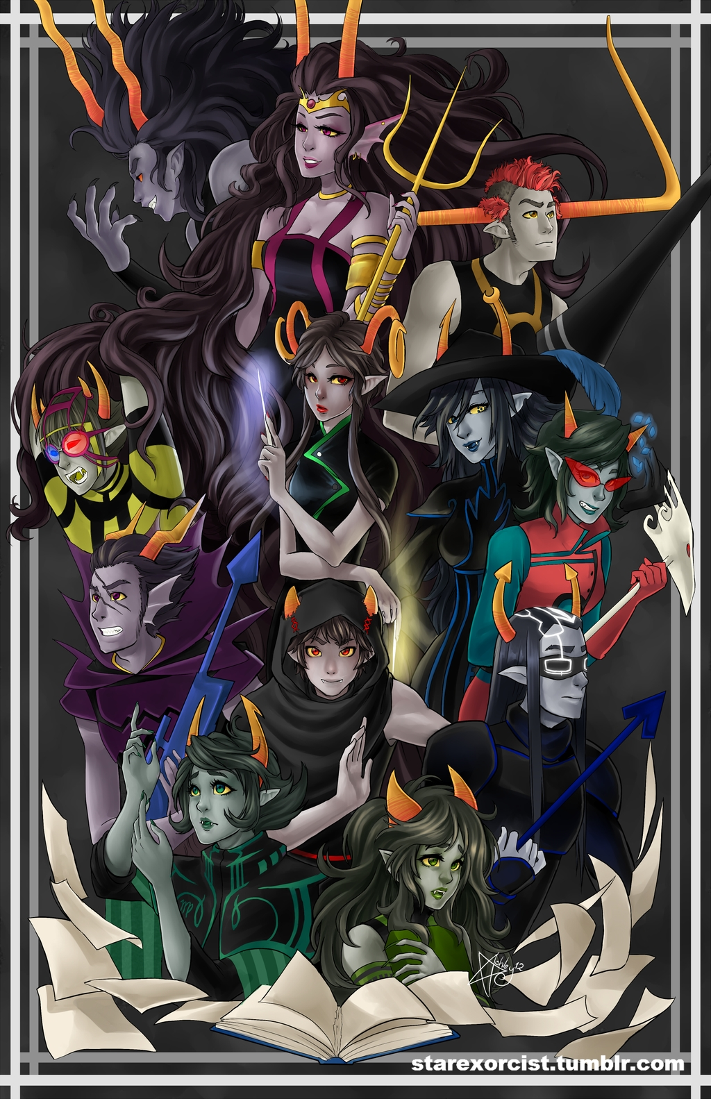 Highblood And Summoner Homestuck/#1413...