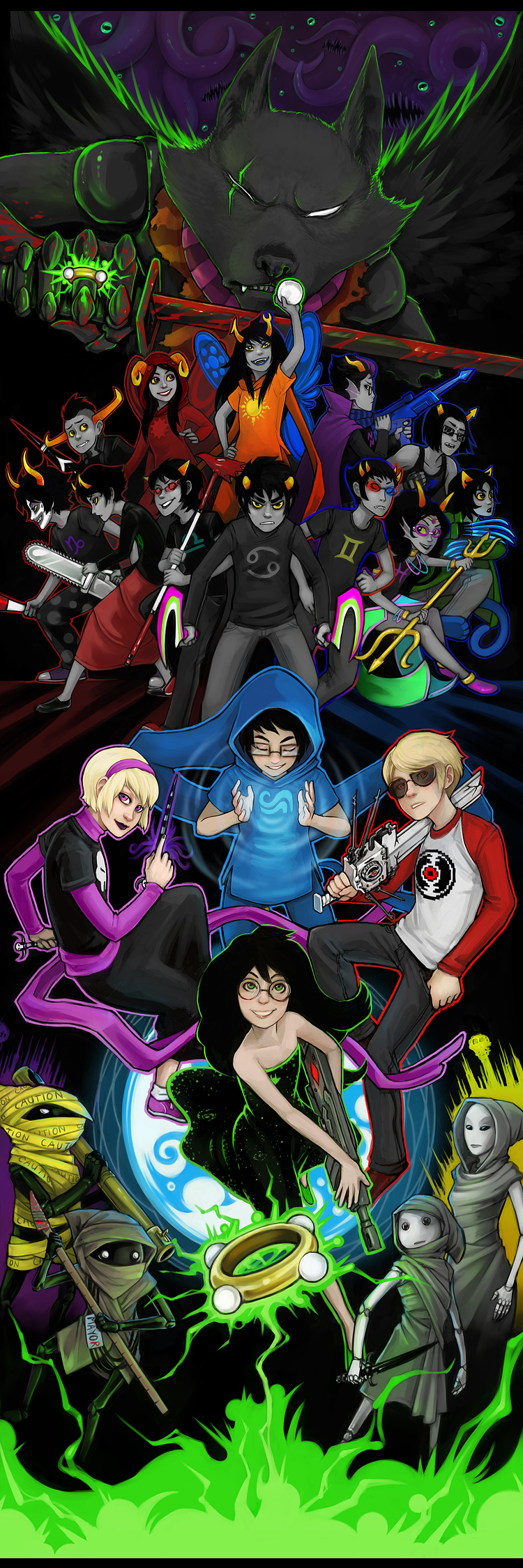 God Tier - Homestuck - Zerochan Anime Image Board
