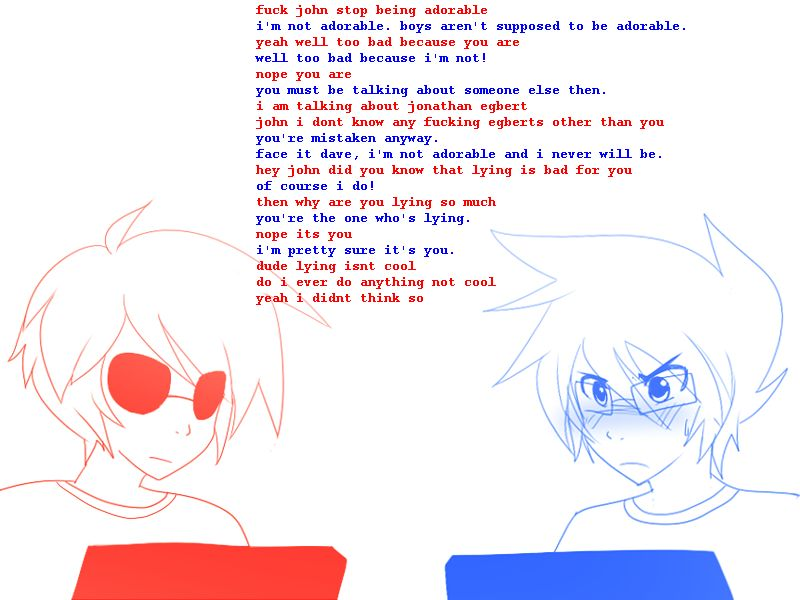 John Egbert And Dave Strider Dave Strider  John Egbert