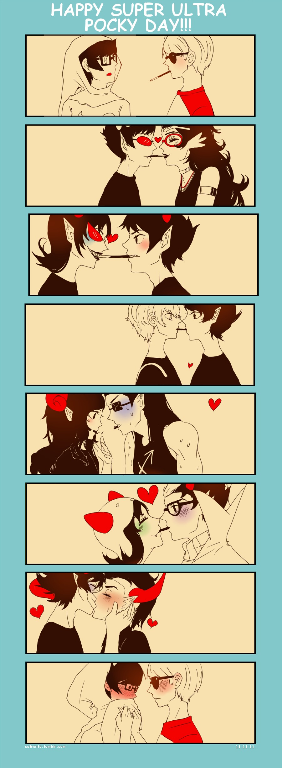 Pocky Game Homestuck