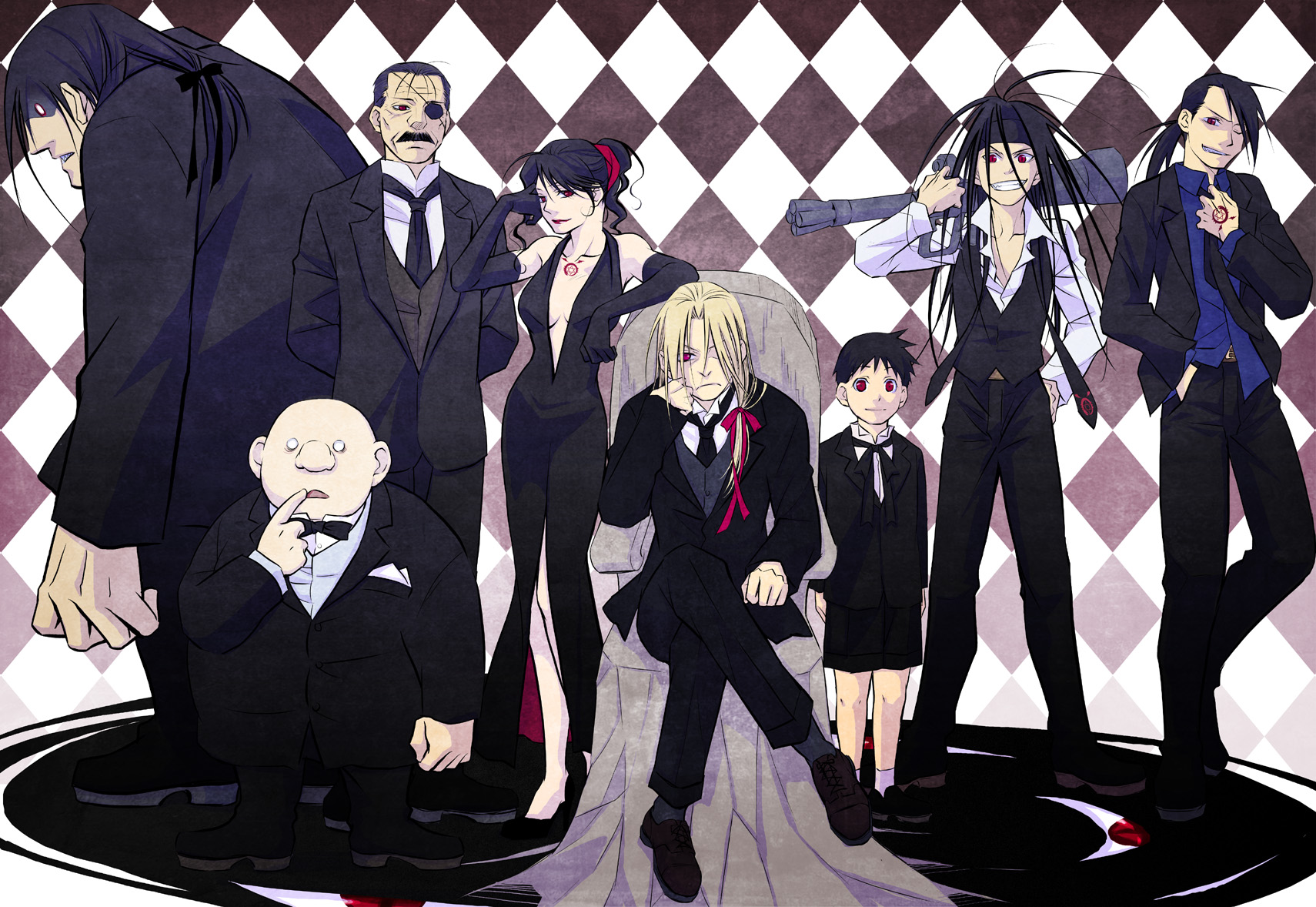 Homunculi Download Image 156 Fav Fullmetal Alchemist Brotherhood
