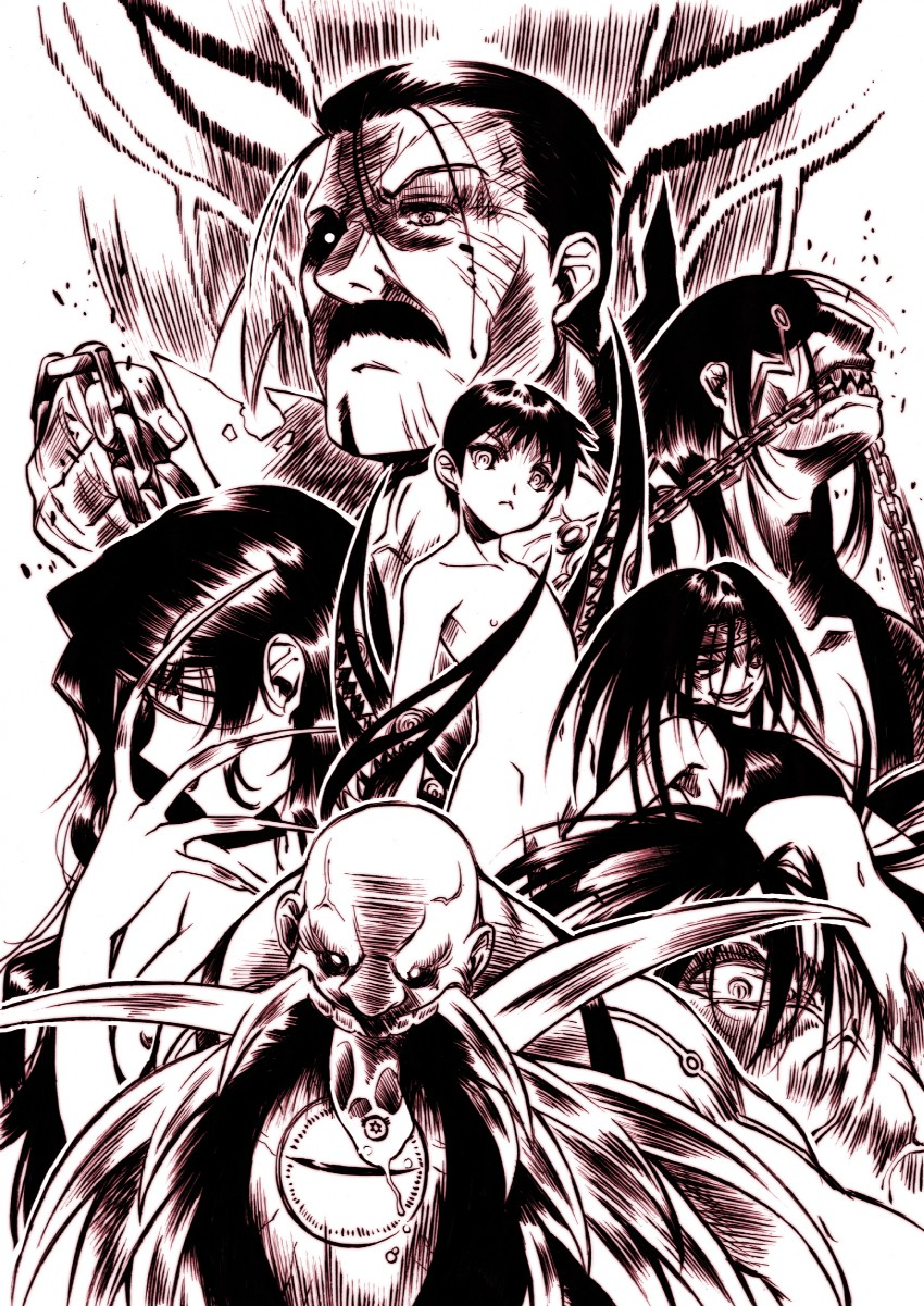 Homunculus Fullmetal Alchemist Brotherhood Wallpaper - Anime Wallpaper HD