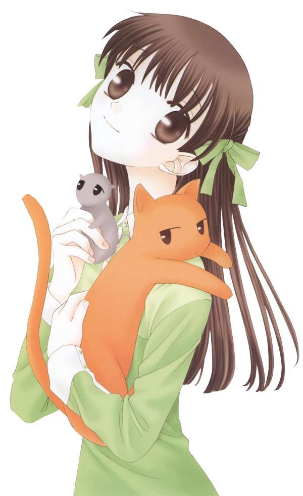 Tags: Anime, Fruits Basket, Honda Tohru, Mobile Wallpaper
