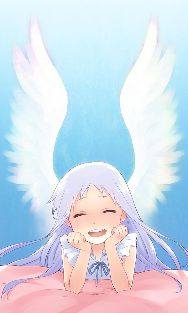 Tags: Anime, Mitsuru (32RM), Ano Hi Mita Hana no Namae o Bokutachi wa Mada Shiranai., Honma Meiko, Mobile Wallpaper