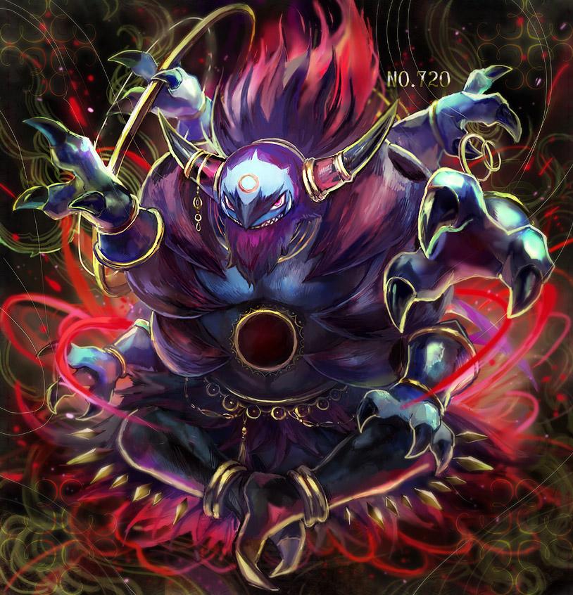 Hoopa Pok 233 Mon Zerochan Anime Image Board