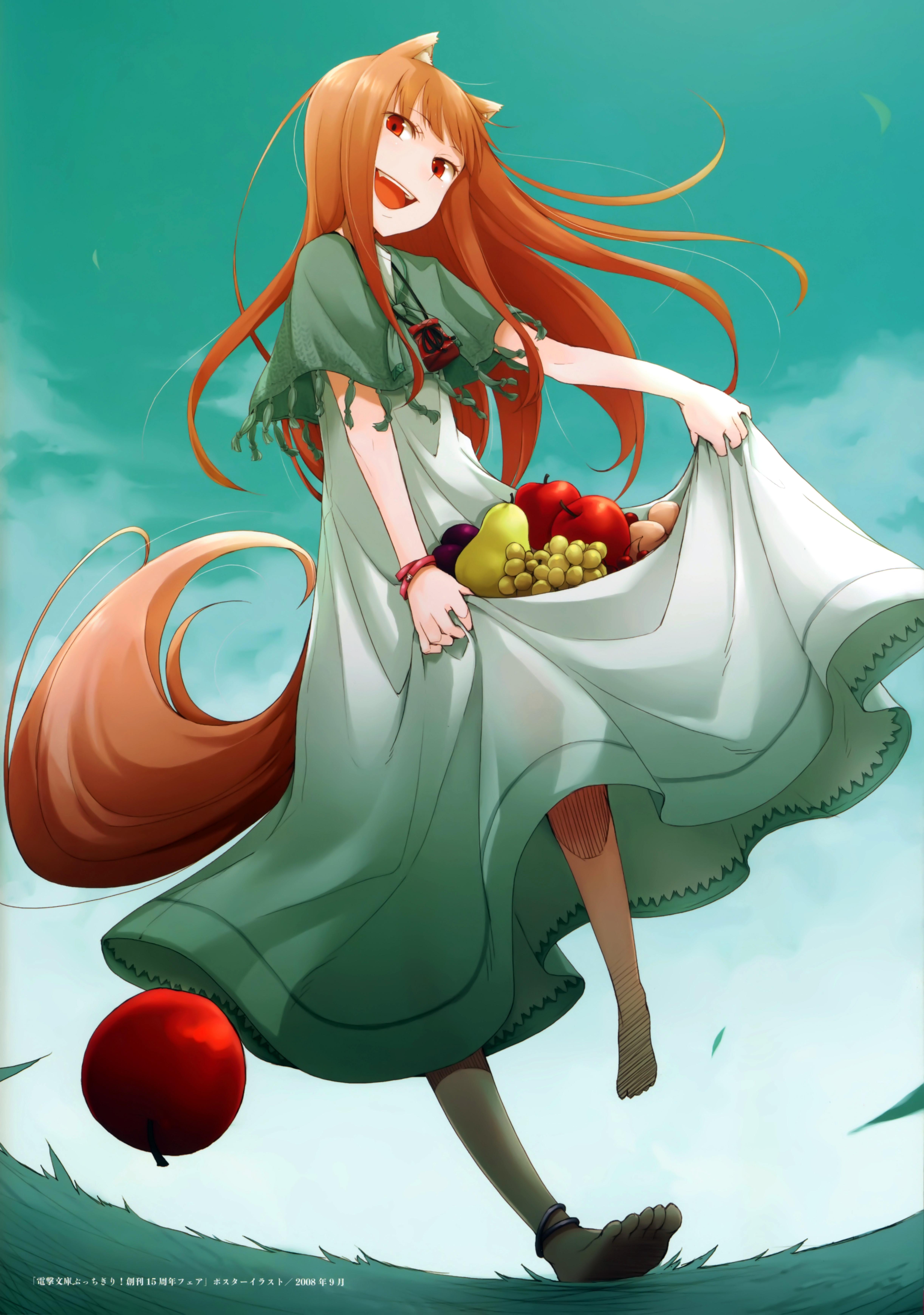 Ookami To Koushinryou Spice And Wolf Mobile Wallpaper Zerochan Anime Image Board