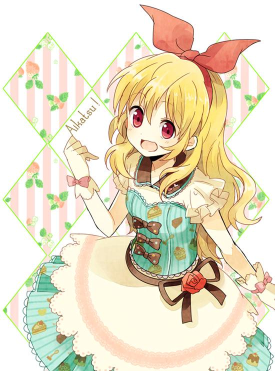 Tags: Anime, Shiro (m0c 0m), Aikatsu!, Hoshimiya Ichigo, Fanart From Pixiv, Pixiv, Fanart