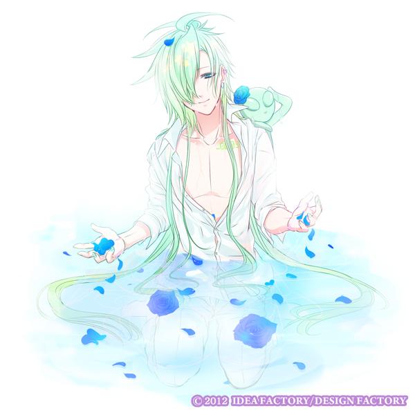 Tags: Anime, Kinami Yuki, IDEA FACTORY, Glass Heart Princess, Hoshino Kanata, Alien, Official Art