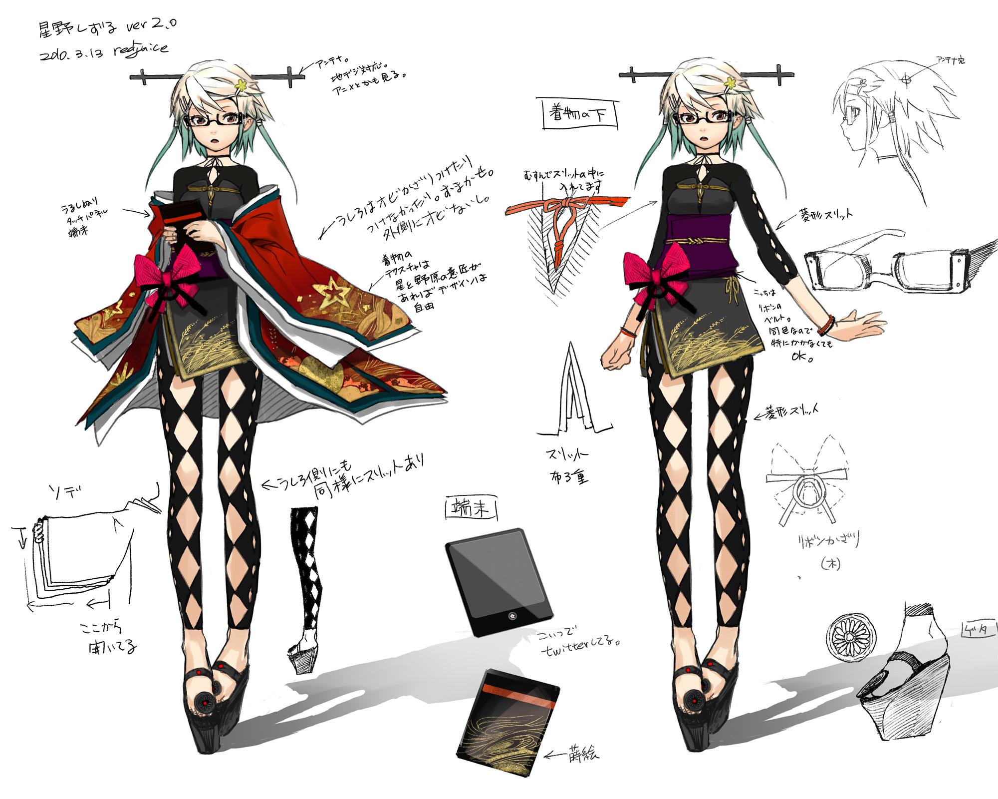 Character Design Zerochan : Hoshino shizuru redjuice image  zerochan