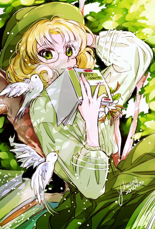 Tags: Anime, Pixiv Id 3111494, Magic Knight Rayearth, Hououji Fuu, White Bird, Fanart From Pixiv, Pixiv, Mobile Wallpaper, Fanart