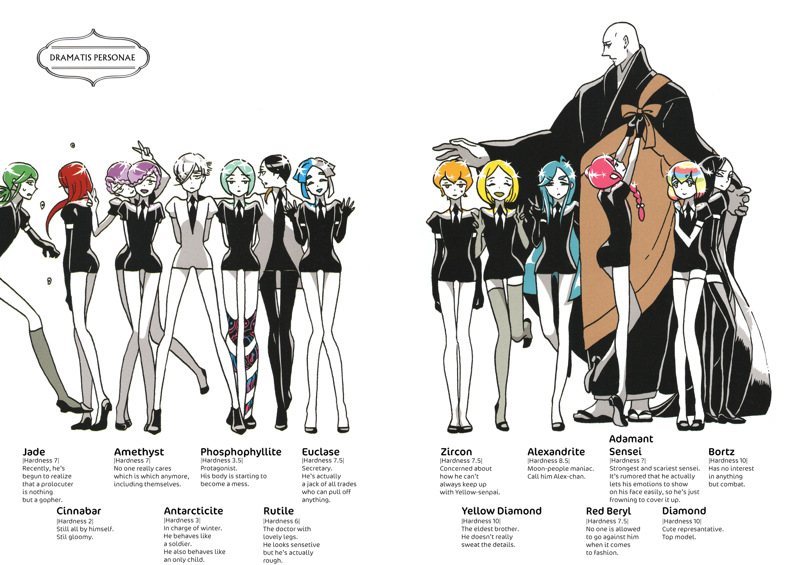 Image result for houseki no kuni