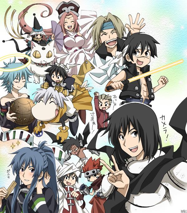 Tags: Anime, Pixiv Id 3286183, Houshin Engi, Nataku (Houshin Engi), Youzen, Shinkohyo, Fuugen Shinjin, Raishinshi, So Dakki, Kou Tenka, Kou Hiko, Taikoubou, Pixiv