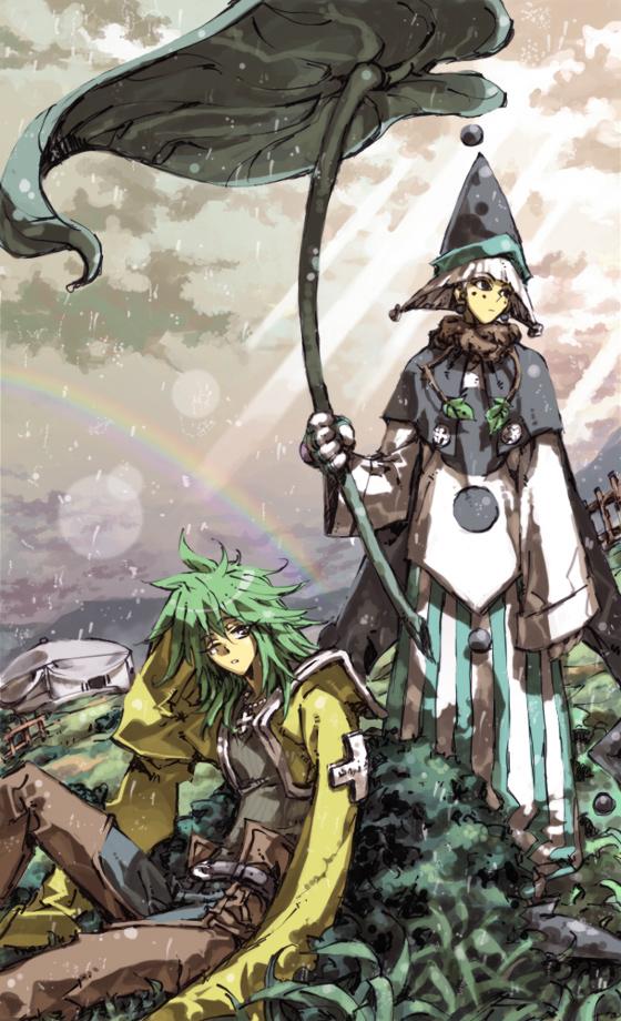 Tags: Anime, Houshin Engi, Taijyuroukun (Roushi), Shinkohyo, Leaf Umbrella