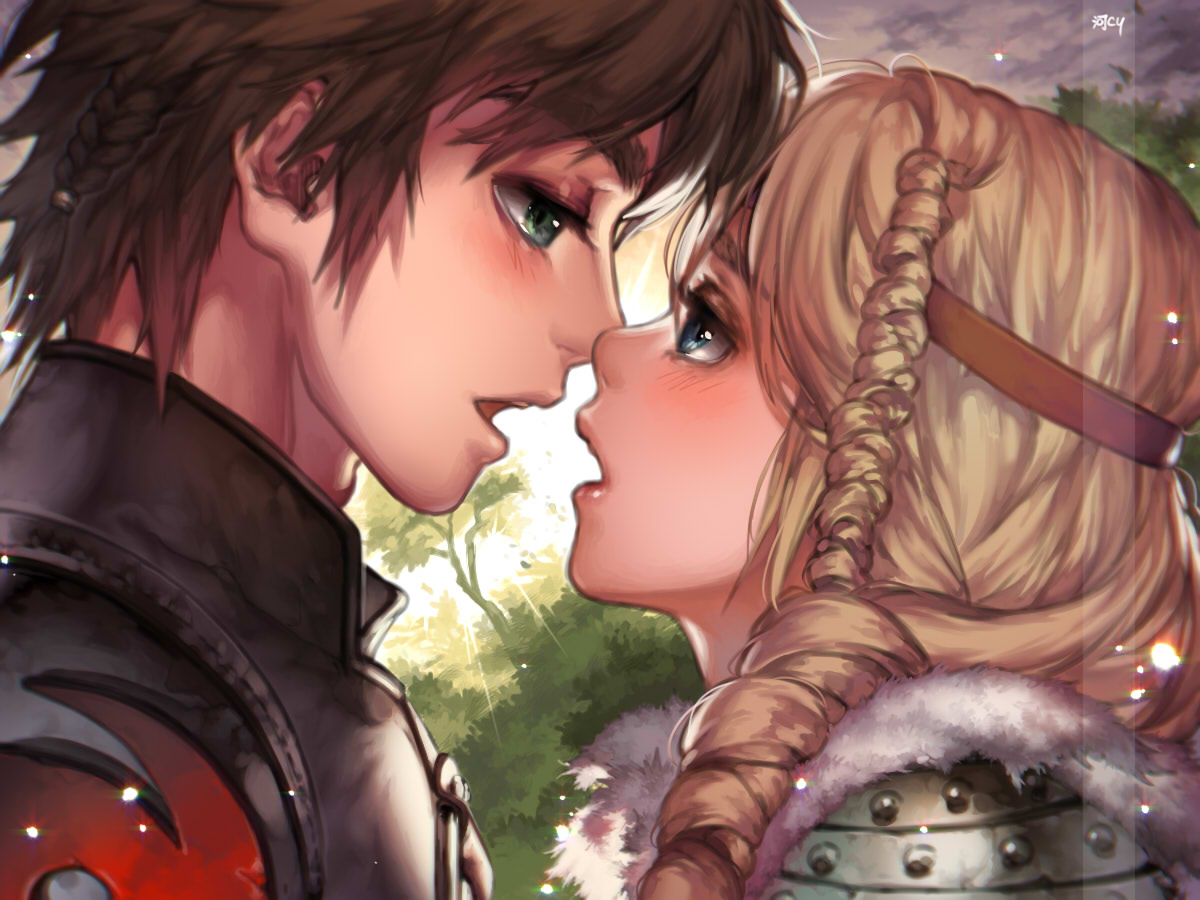 Tags Anime Kawacy How To Train Your Dragon Astrid Hofferson Hiccup