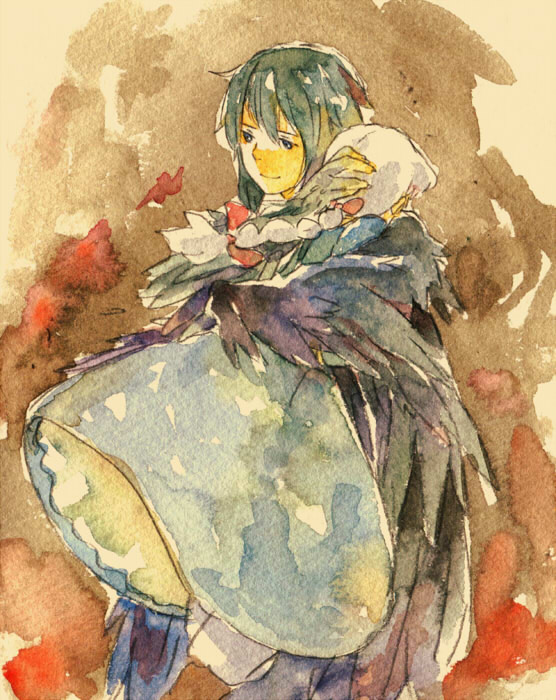 Tags: Anime, Hal (Honobono Bousouzoku), Howl no Ugoku Shiro, Sophie Hatter, Howl, Watercolor, Traditional Media, Howl's Moving Castle