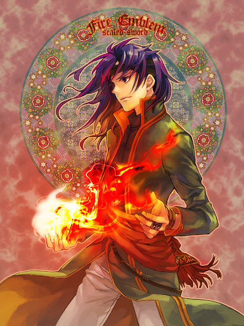 Tags: Anime, Kaito (Artist), Fire Emblem: Fuuin no Tsurugi, Hugh (Fire Emblem), Art Nouveau