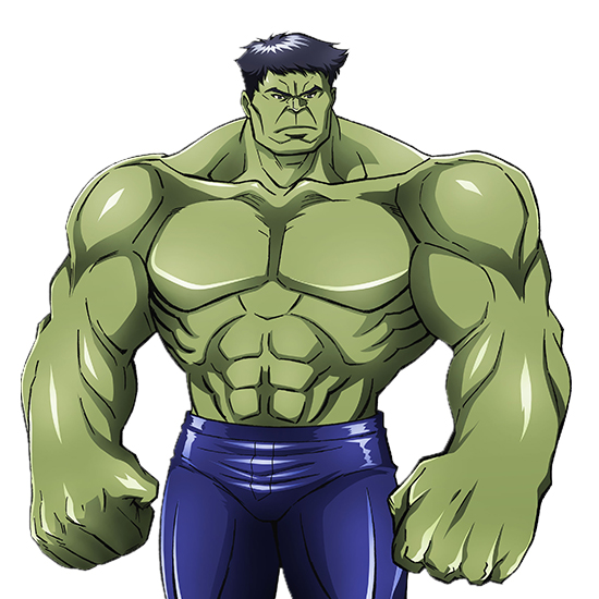 Tags: Anime, Umehara Takahiro, MADHOUSE, Marvel Future Avengers, Hulk, Cover Image, Official Art
