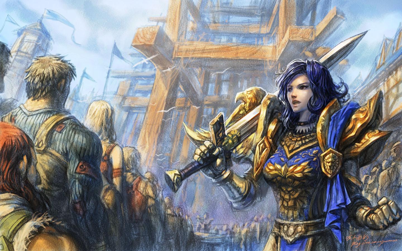 Warcraft human porno scene