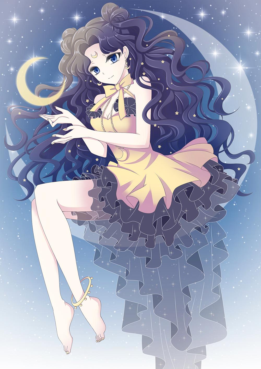 Human Luna Luna Sailor Moon Image 2320013 Zerochan