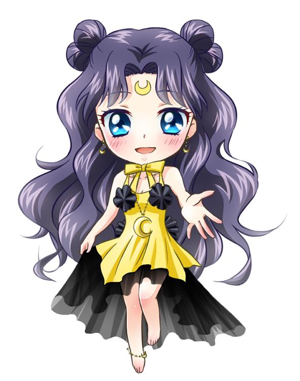 Sailor Moon Luna Human