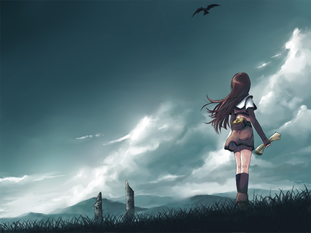 Tags Anime Ragnarok Online Hunter Wallpaper