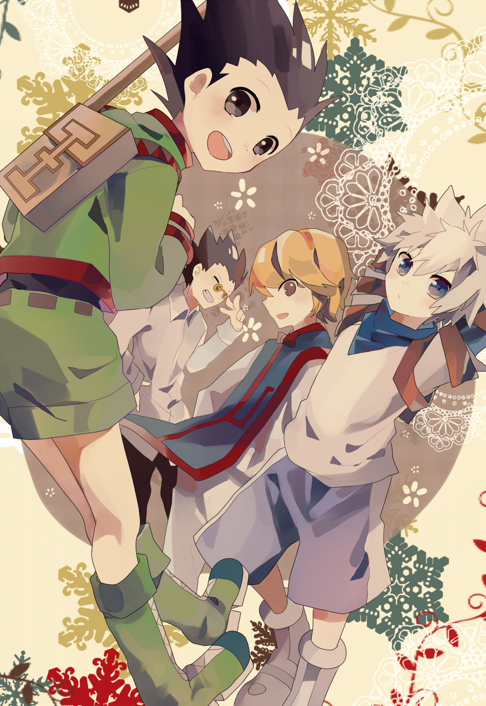 Hunter X Hunter Mobile Wallpaper Page 11 Zerochan Anime Image Board
